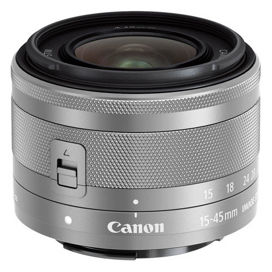 Canon EF-M 15-45 3.5-6.3 IS STM